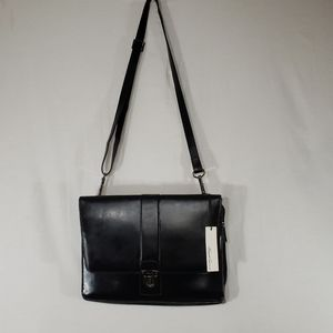 NWT Kenneth Cole Leather Briefcase